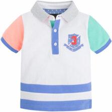 Mayoral μπλούζα Πολο κοντομάνικη για Αγόρι 1138-035