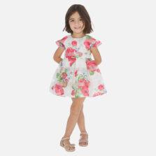 Φόρεμα σταμπωτό λουλούδια κορίτσι 3930