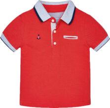 Μπλούζα πόλο αγόρι κοντομάνικο Mayoral 1138-090