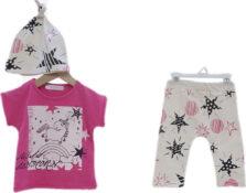 Σετ Κολάν με Μπλούζα για Νεογέννητο Κορίτσι 2511