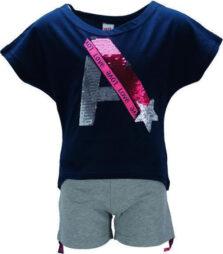 Σετ σορτς με μπλούζα για Κορίτσι 36152