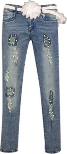 Παντελόνι τζιν για κορίτσι Εβιτα 198053