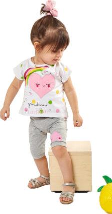 Σετ κολάν με μπλούζα για  Νεογέννητο Κορίτσι 252509