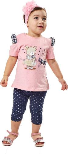 Σετ κολάν με Μπλούζα για Κορίτσι 252519