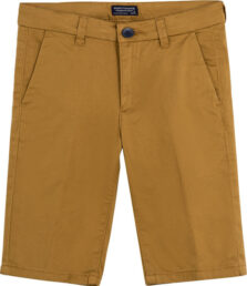 Παντελόνι κοντό καπαρτινέ λοξοτσέπο αγόρι 00242-078
