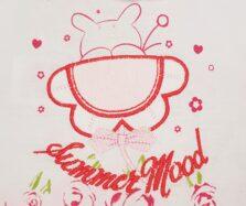 Φορμάκι κοντό σχέδιο Νεογέννητο κορίτσι 116410 Funky