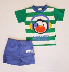 Σετ βερμούδα με Μπλούζα για Νεογέννητο Αγόρι 117841