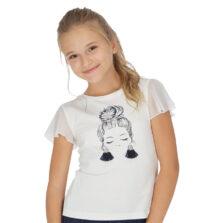 Μπλούζα κοντομάνικο κορίτσι 20-06004-047