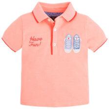 Μπλούζα πόλο αγόρι κοντομάνικο Mayoral 1136-080