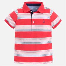 Mayoral Παιδική Μπλούζα Πολο κοντομανικο ριγε 28-03122-080