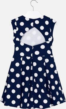 Mayoral φόρεμα πουά αντίθεση κορίτσι