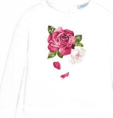 Μπλούζα μακρυμάνικη τριαντάφυλλο Mayoral