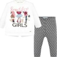 Σετ κολάν και μπλούζα βρεφικό κορίτσι Mayoral 19-02747-079