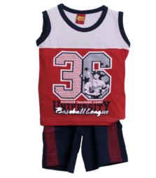 Σετ βερμούδα με μπλούζα Αγόρι Trax 29433