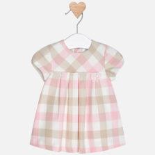 Mayoral Φόρεμα καρό για μωρό κορίτσι 18-02846-084