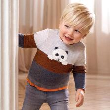Mayoral Ζέρσεϋ στρογγυλεμένος γιακάς baby αγόρι 10-02344-096
