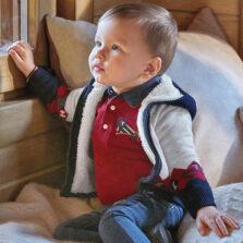 Mayoral Ζακέτα πλεκτή ρόμβοι baby αγόρι 10-02355-054