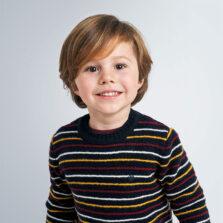 Παιδική πλεκτή μπλούζα ρίγες αγόρι Mayoral 10-04332-085