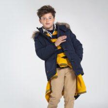 Παιδικό Μπουφάν Παρκα με γούνα Αγόρι Mayoral 10-07473-034