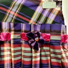 Φούστα Ταφτάς Κορίτσι 291223 Mandarino