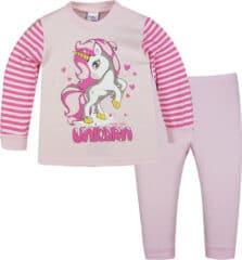 Βρεφική Πυζάμα βαμβακερή για Κορίτσι Unicorn Pretty baby 69159