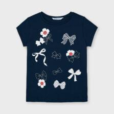 Μπλούζα κοντομάνικη για κορίτσι Mayoral 21-03020-011