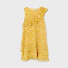 Φόρεμα σταμπωτό βολάν κορίτσι Mayoral 21-06915-061