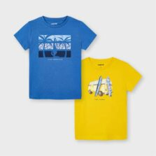 Mayoral Σετ 2 μπλούζες αγόρι 21-03033-072