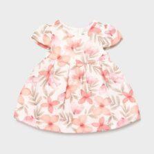 Φόρεμα αμπιγιέ σταμπωτό Νεογέννητο κορίτσι 21-01828-020