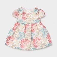 Φόρεμα αμπιγιέ σταμπωτό Νεογέννητο κορίτσι 21-01828-021