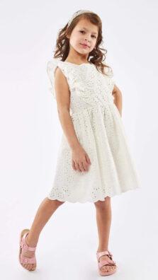 Παιδικό Φόρεμα γκιπούρ Εβίτα 214254