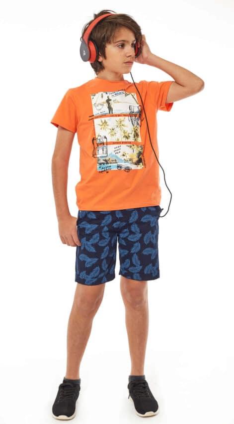 παιδικό-σετ-βερμούδα-μπλούζα-αγόρι-hashtag