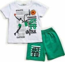 Παιδικό Σετ Βερμούδα-μπλούζα Αγόρι Hashtag 214804