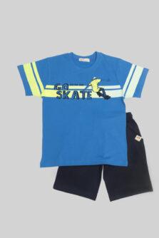 Παιδικό σετ βερμούδα Nek αγόρι Go Skate 61821