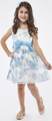Εβίτα Παιδικό Φόρεμα 214258 με Στέκα