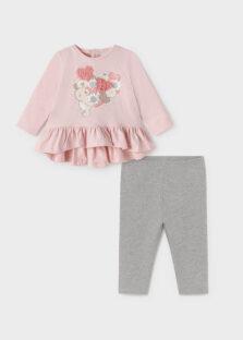 Σετ κολάν ECOFRIENDS Baby κορίτσι 11-02722-047