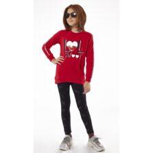 Σετ μπλούζα με κολάν για κορίτσι Ebita 213008