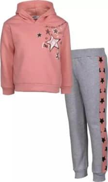 Nek Kids Wear Παιδική Φόρμα 133221 Ροζ