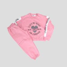 Παιδική φόρμα NEK για Κορίτσι 133521 ροζ