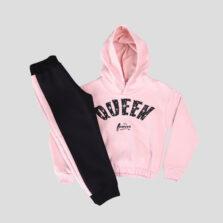 Παιδική φόρμα σετ κορίτσι NEK 131021 ροζ