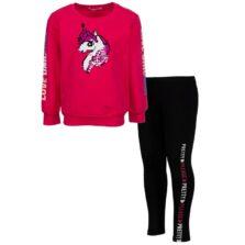 Παιδικό σετ ΕΒΙΤΑ για κορίτσια Unicorn Φούξια