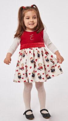 Βρεφικό Φόρεμα με Μπλούζα Εβίτα 215536